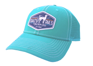Salty Tails - Simple Surf Trucker