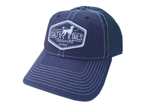 Salty Tails - Original Logo Trucker