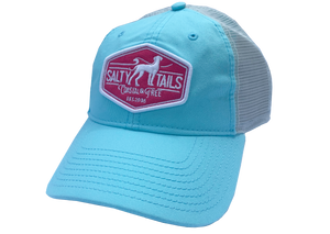 Salty Tails - Surf Patch Trucker