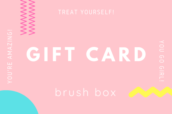 Brush Box Gift card