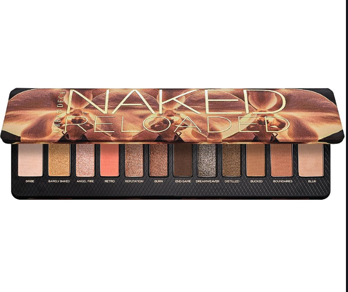 Urban Decay Naked Reloaded Eyeshadow Palette - Gold/Brown Smokey Eye - Shopping Request