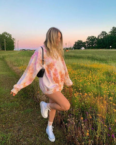 Sunset Dreaming Tie Dye Sweatshirt