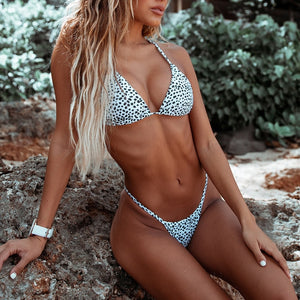 Just Wanna Have Sun Leopard Cheeky Bikini