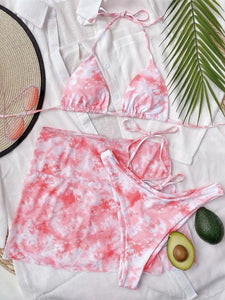 Fun In The Sun Tie Dye Bikini Set