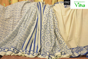 Mulmul Cotton Shibori Saree