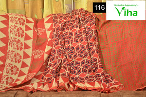 Chanderi Silk Cotton Saree