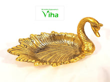 Golden Metal Duck Soap / chocolates Holder