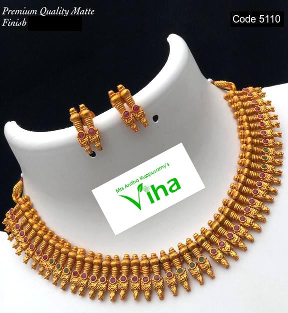 Kerala Design Neck Set