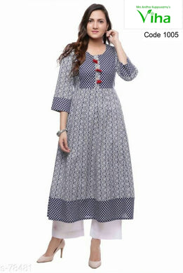 Contemporary Casual Cotton Kurti