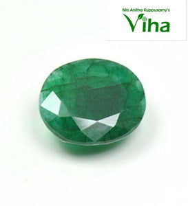 Original Natural Emerald Stone/ மரகத கல் 4.70 Cts
