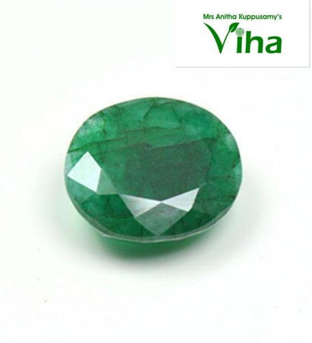 Original Natural Emerald Stone/ மரகத கல் 4.90 cts