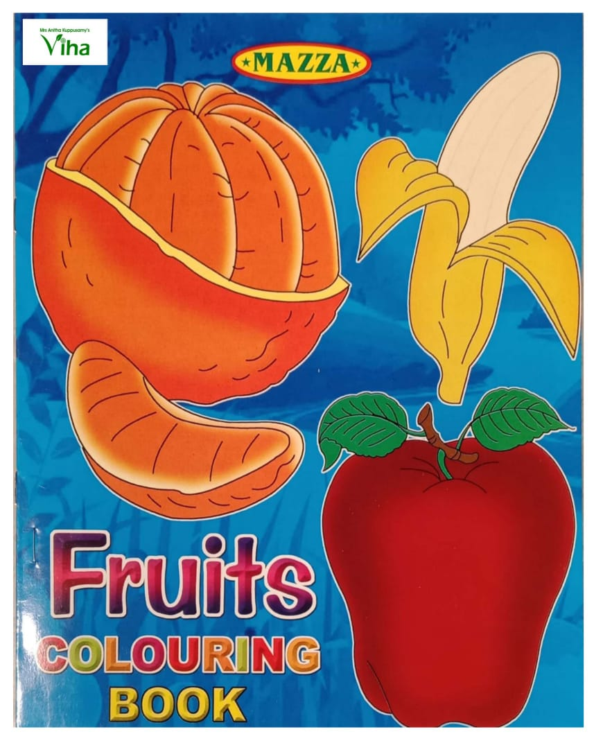 CHILDREN COLOURING BOOK (FRUITS)