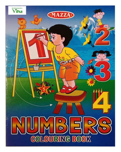 CHILDREN COLOURING BOOK (NUMBERS)