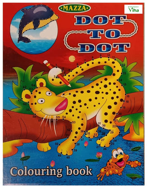 CHILDREN COLOURING BOOK (DOT TO TO)