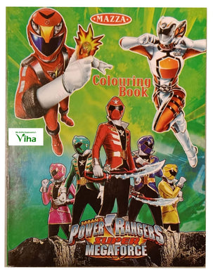 CHILDREN COLOURING BOOK ( POWER RANGERS)