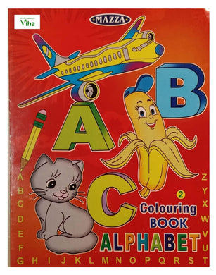 CHILDREN COLOURING BOOK (A B C)