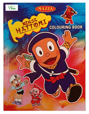 CHILDREN COLOURING BOOK (NINJA)