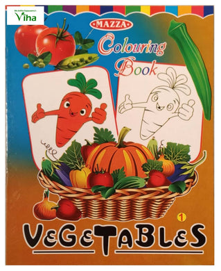 COLOURING BOOK FOR CHILDREN (VEGETABLES)