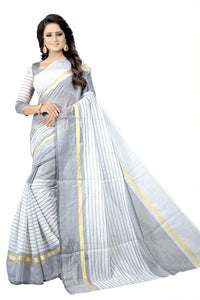 SOFT COTTON SAREE - including tax