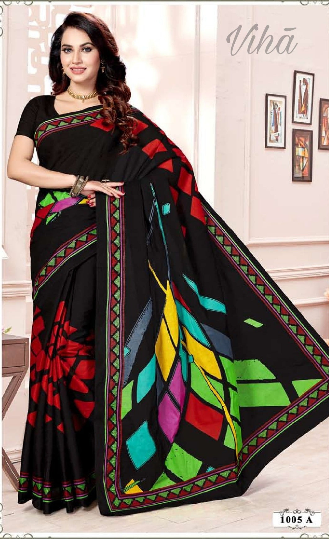 Cotton Saree - 1005 A
