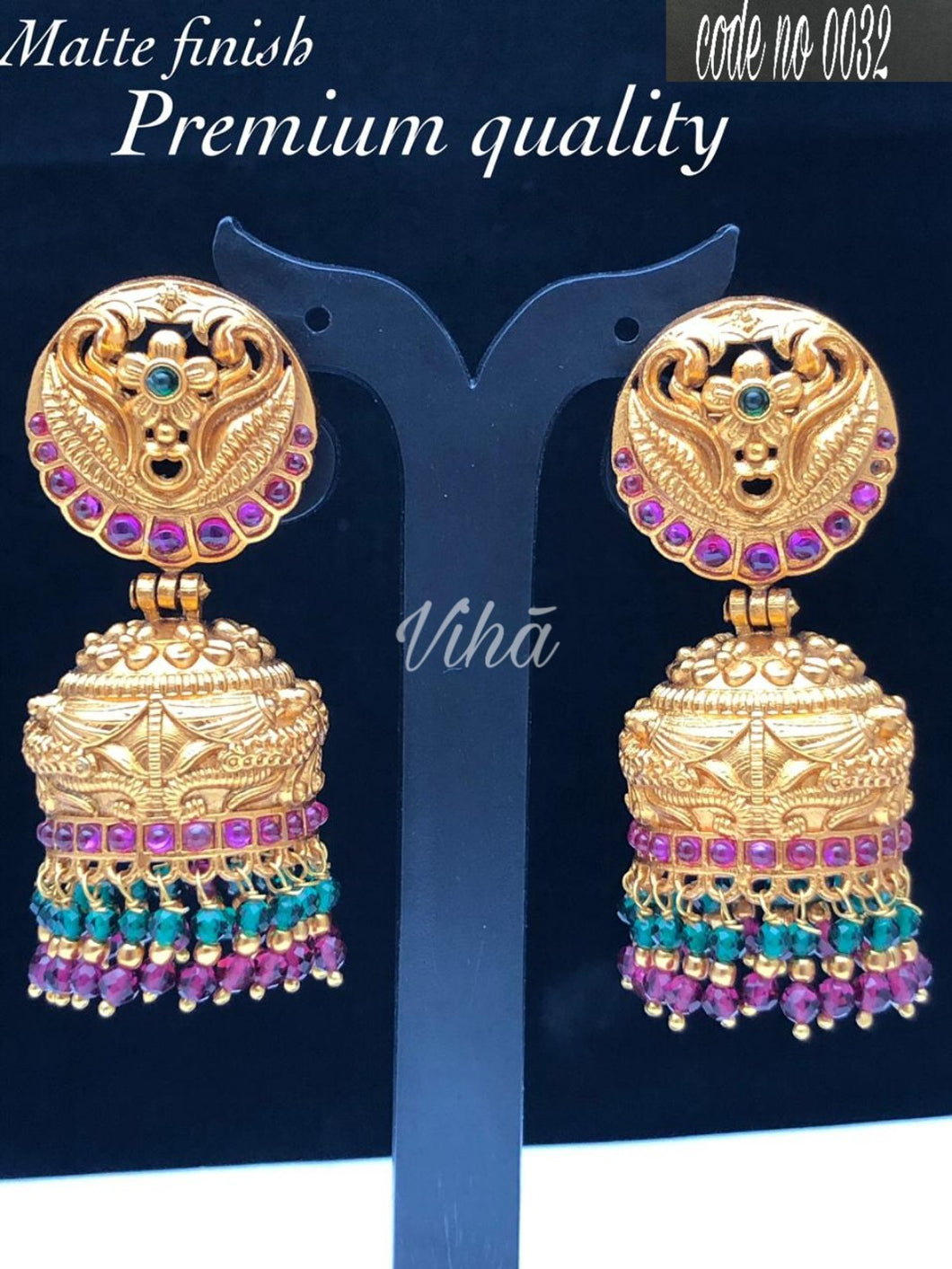 Beautiful Traditional Jhumka