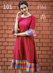 NEW DESIGN COTTON KURTI