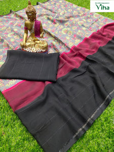 PURE SHIFFON SAREE