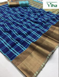 SOFT SILK SAREE - (including taxes)