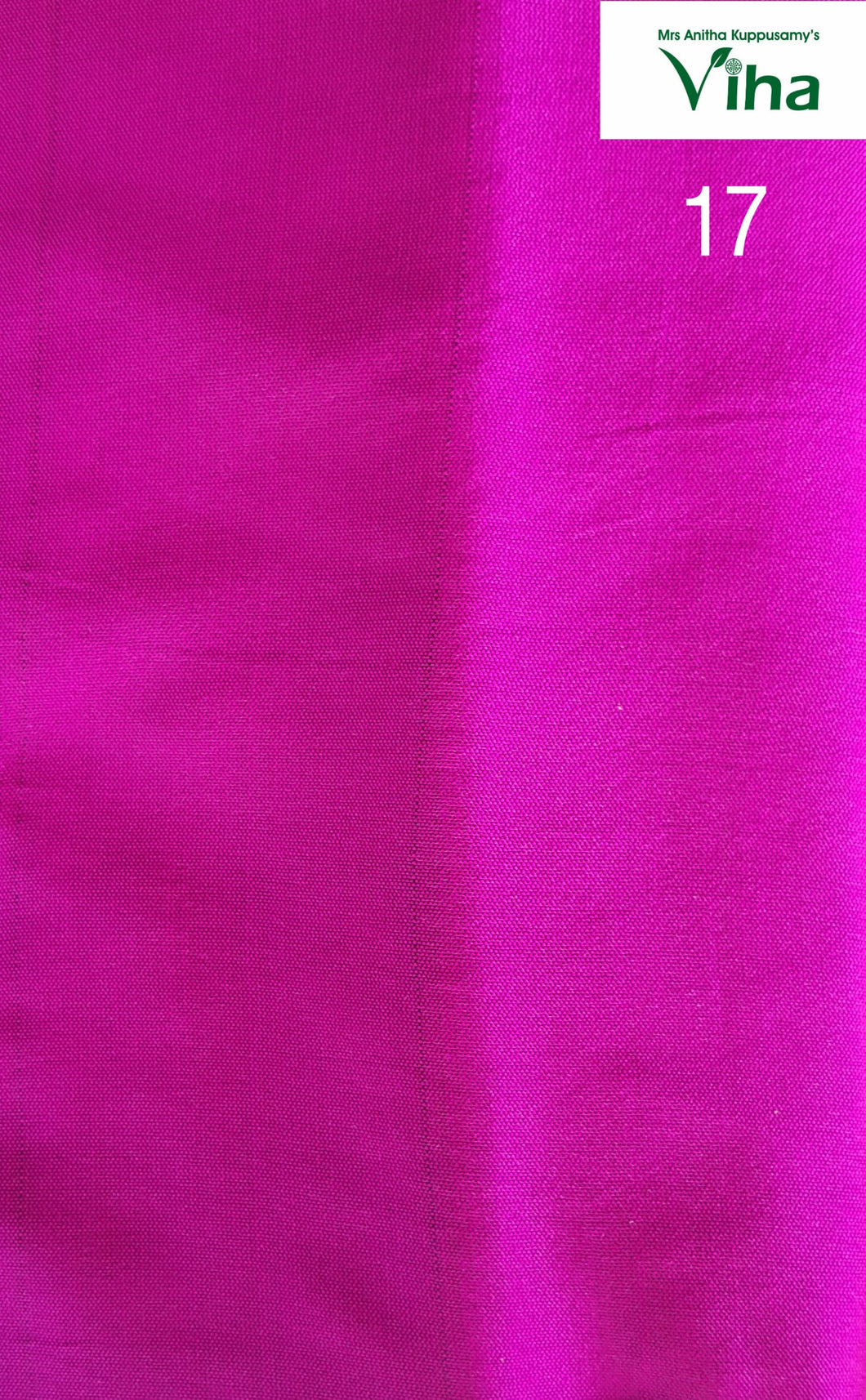 COTTON SILK BLOUSE BIT 1 METRE / NO 17