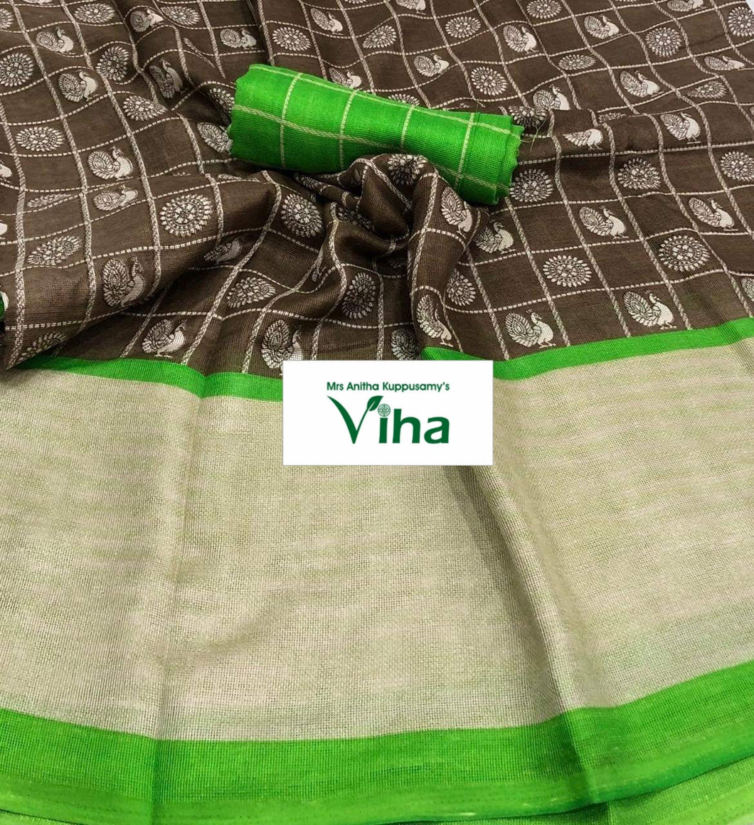 JUTE LINEN SILK SAREE  (inclusive of all taxes)