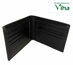 Men's Leather slim wallet
