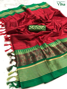 COTTON SILK SAREE ( inclusive of all taxes)