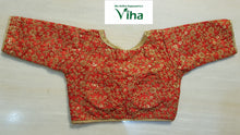 Ready made blouse with heavy golden embroidery