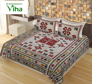 Pure Barmeri Print Bed Sheets