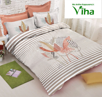 Pure Twirl Cotton Bedsheets