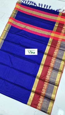 Cotton Silk Saree With Blouse (inclusive of all taxes)