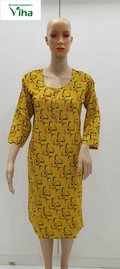 Cotton Kurti (inclusive of all taxes)