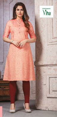 Luxury Cotton Silk Readmade Kurti L,XL,XXL,3XL (inclusive of all taxes)