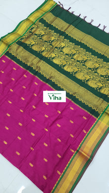 Kalyani Cotton Saree with Grand blouse (inclusive of all taxes)