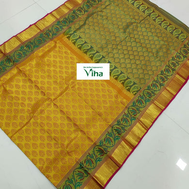 Pure Kanchipuram Silk Saree (inclusive of all taxes)