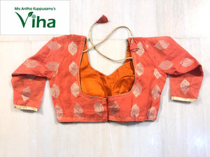 Ready made blouse - Chanderi silk cotton