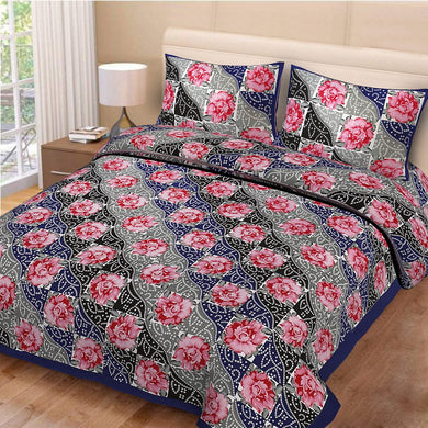 Pure Cotton double Bedsheet
