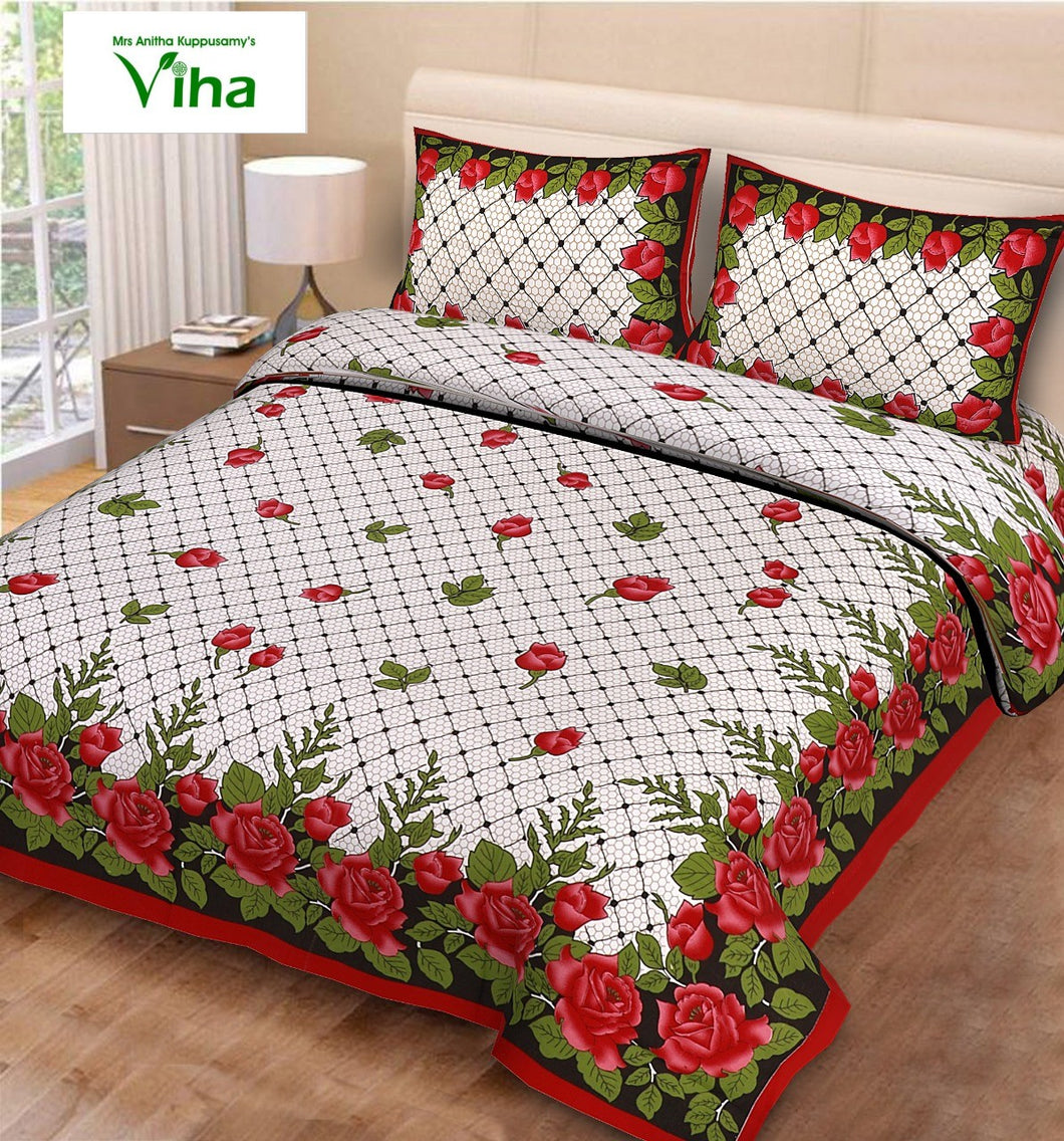 Pure Cotton double Bedsheet - including tax