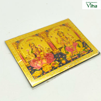 Magnetic Metal Ganapathy,Mahalakshmi Photo