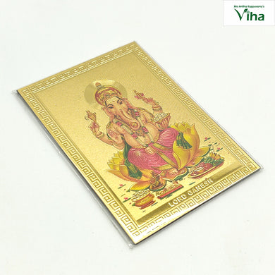 Magnetic Metal Ganesha photo