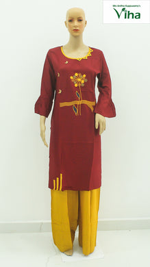 Kurti with Palazzo (inclusive of all taxes
