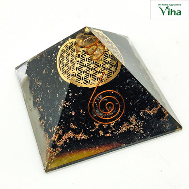 Black Tourmalin Pyramid For Vastu