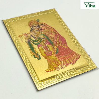 Magnetic Metal Radha Krishna photo