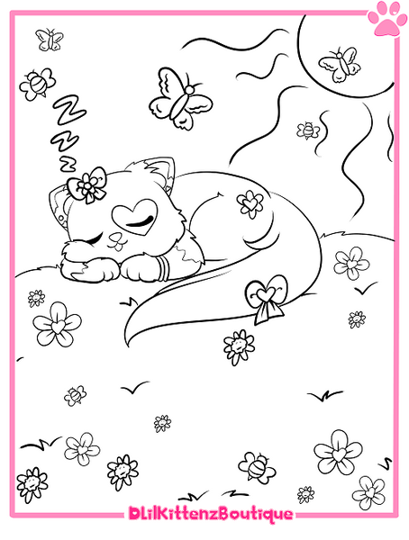 Felicity Coloring Page