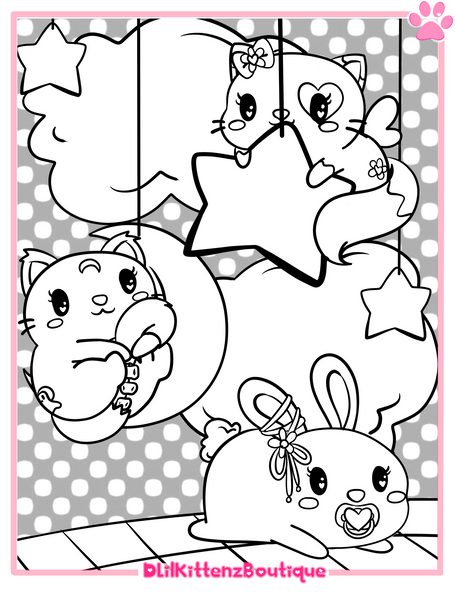OC Coloring Page